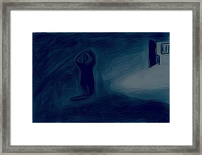Agony Of The Outside World 1 Framed Print
