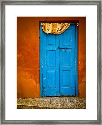 Agra Door Framed Print