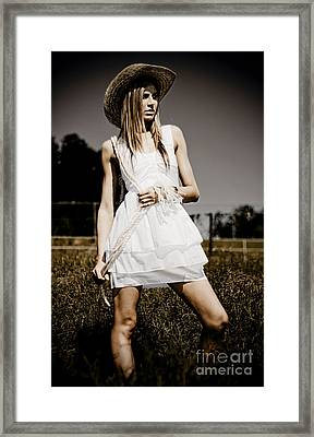 Agricultural Solitude Framed Print by Jorgo Photography - Wall Art Gallery