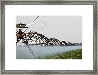 Agriculture - Irrigation 3 Framed Print