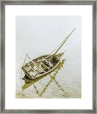 Aground Framed Print