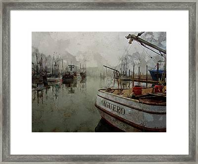 Aguero Framed Print