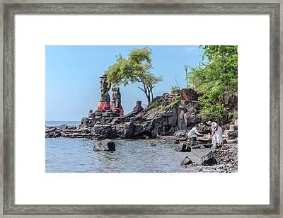 Agung Pulaki - Bali Framed Print by Joana Kruse