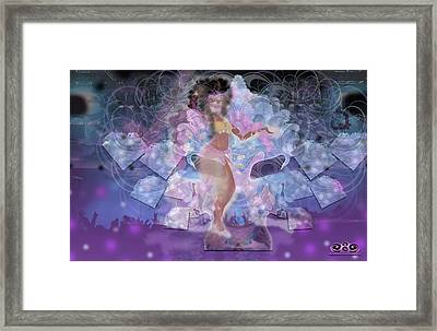 Ahanka Remix Framed Print