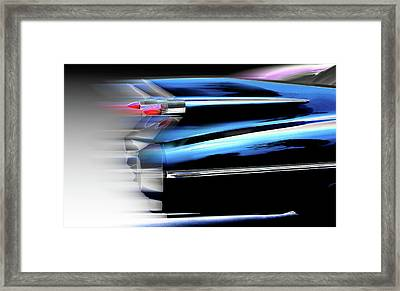 Framed Print featuring the photograph Ahead Of Its Time by Jeffrey Jensen