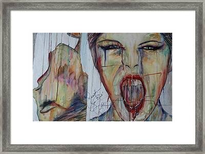 Ahhh Framed Print by Joseph Lawrence Vasile