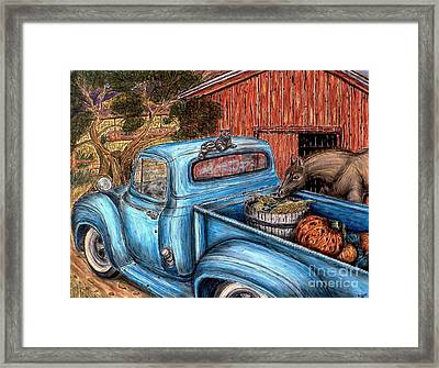 Ahh...the Good Life Framed Print by Kim Jones