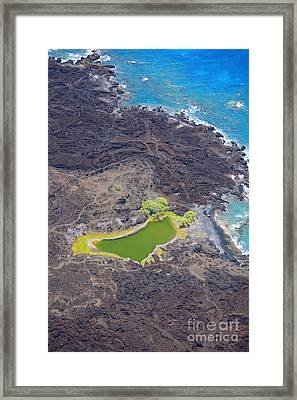 Ahihi Kinau Natural Reserve Framed Print by Ron Dahlquist - Printscapes