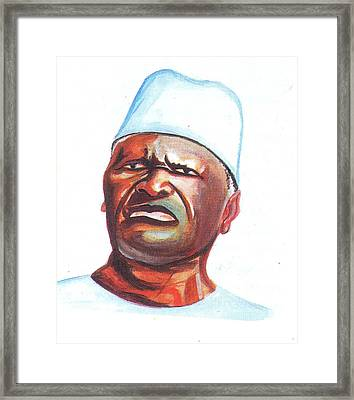Ahmed Sekou Toure Framed Print