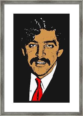 Ahmed Timol 2 Framed Print by Otis Porritt