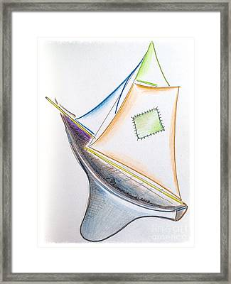 Ahoy Framed Print by Barbara Chase