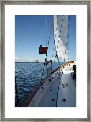 Ahoy Framed Print