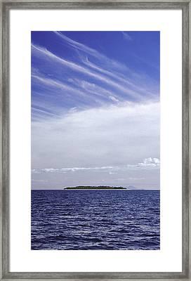 Ahoy Bounty Island Resort Framed Print
