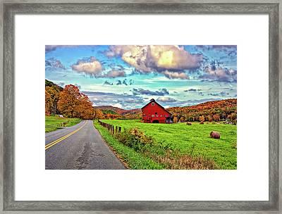 Ah...west Virginia Framed Print by Steve Harrington