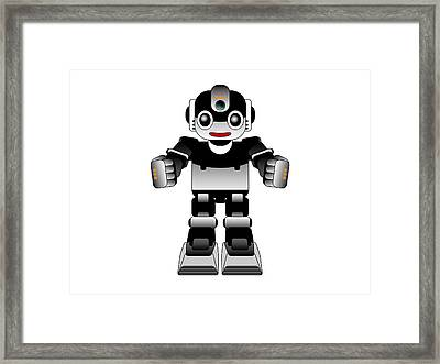 Ai Robot Framed Print