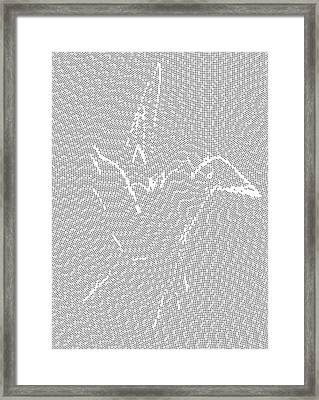 Aibird Framed Print