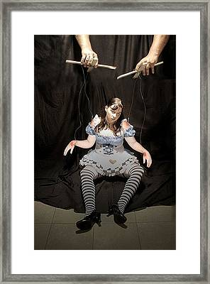 Aice On Strings Framed Print by Matt Nelson