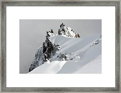 Aiguille Du Midi Framed Print