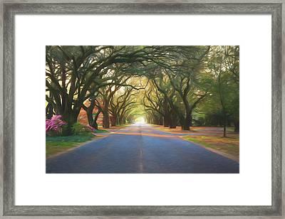 Aiken South Boundary II Framed Print