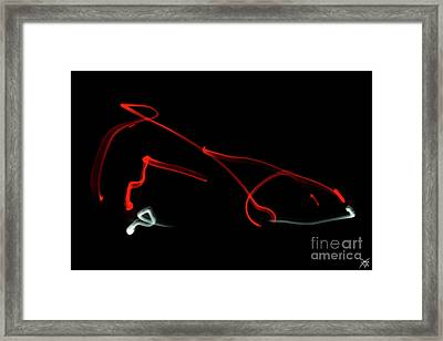 Aikido - Iriminage, Omote Framed Print