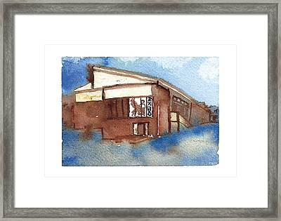 Aikido Framed Print by Meagan Healy