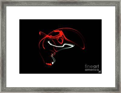 Aikido - Nikyo, Omote Framed Print
