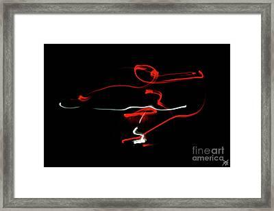 Aikido - Sankyo, Omote Framed Print