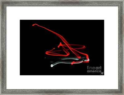 Aikido - Tenchinage, Omote Framed Print