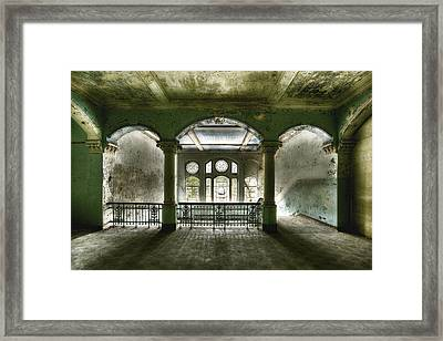 Ailing Beauty Framed Print by Markus Kuhne