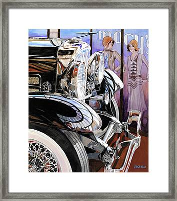 Aint She A Duesy Framed Print by Mike Hill