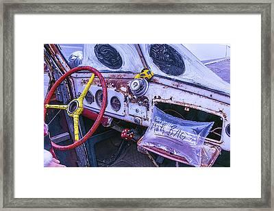 Air Bag Framed Print