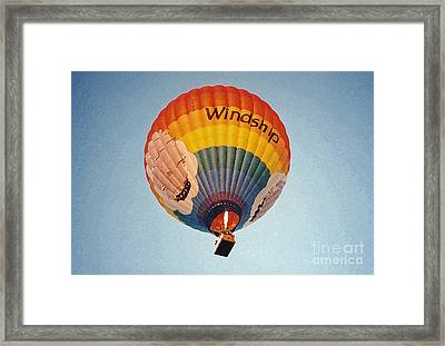 Air Balloon Framed Print