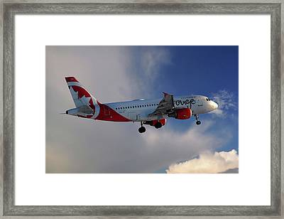 Air Canada Rouge Airbus A319-114 Framed Print