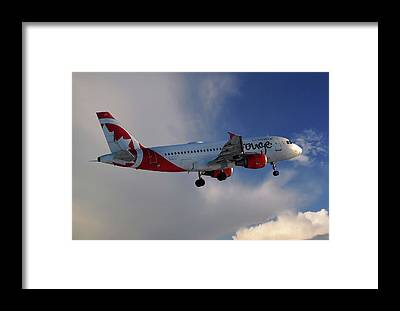 Air Canada Framed Prints