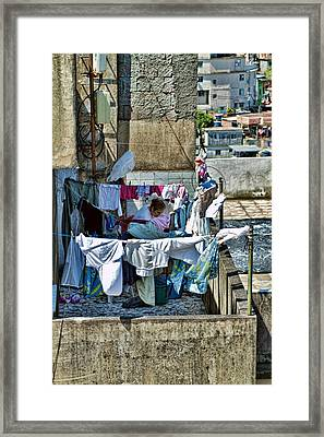 Framed Print featuring the photograph Air Dry by Kim Wilson
