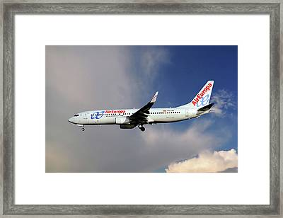 Air Europa Boeing 737-85p Framed Print
