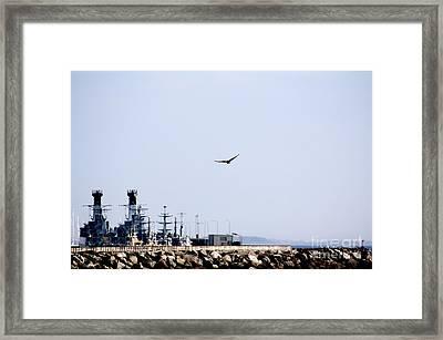 Air Force At The Navy Framed Print by Toon De Zwart