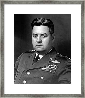 Air Force General Curtis Lemay  Framed Print
