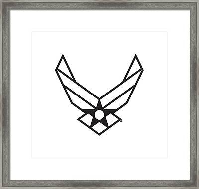 Air Force Logo Framed Print
