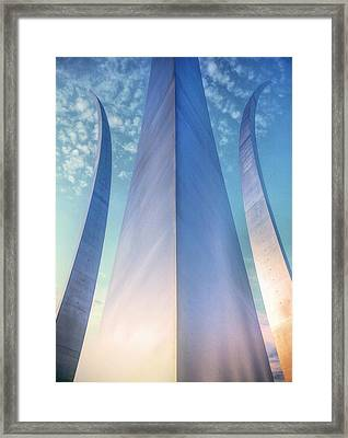 Air Force Memorial Framed Print