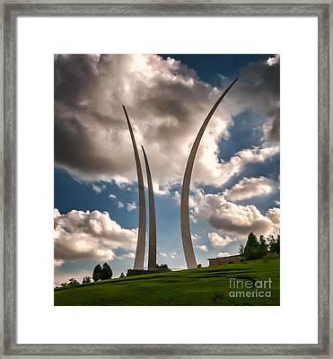 Air Force Memorial Framed Print