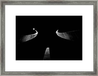 Air Force Monument Framed Print by Caroline Clark