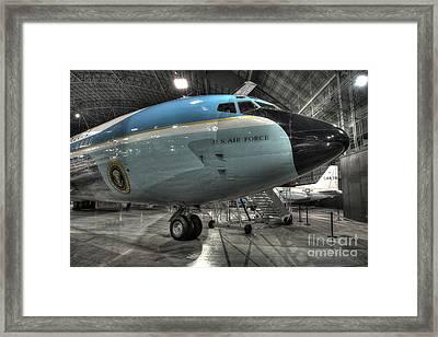 Air Force One - Boeing Vc-137c Sam 26000 Framed Print