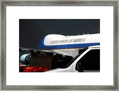 Air Force One Framed Print by David Lee Thompson