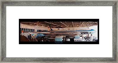 Air Force One - Ronald Reagan Library Framed Print