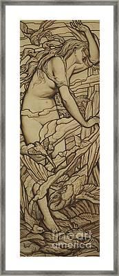 Air Framed Print by Frederick G Smith