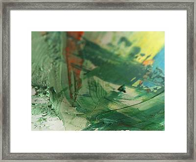Air Fruit Framed Print by TripsInInk