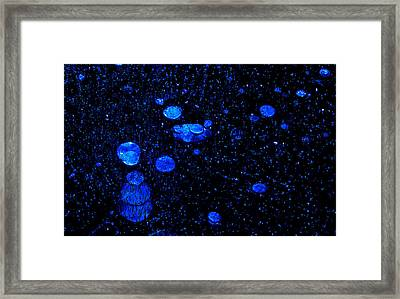 Air In Ice 3 Framed Print by Henry Hewitt