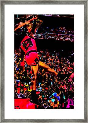 Air Jordan 04 Framed Print