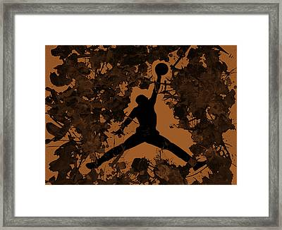 Air Jordan 1a Framed Print by Brian Reaves